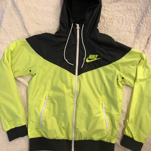 ‼️Sale‼️ Neon yellow Nike windbreaker
